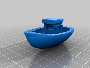 Fully floatable toy boat
