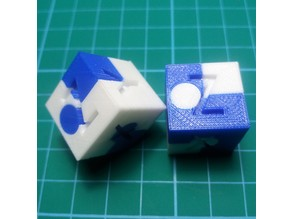 Calibration Cube (DUAL EXTRUDER)