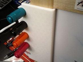 Pen holder for kid white board