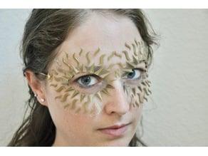 Sun Rays Masquerade Mask