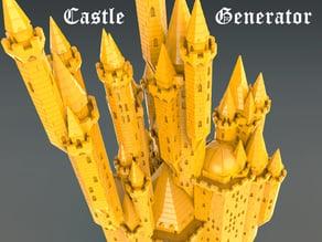 Fantastic Medieval Castle Generator v1