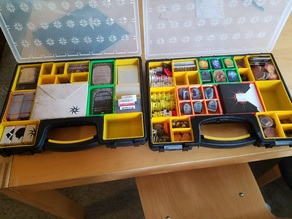 Gloomhaven Storage - Harbor Freight trays