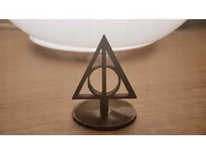 Deathly Hallows Desk Stand
