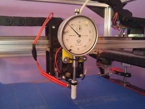 FT-5 Mechanical Bed Leveling : Dial Gauge Bracket