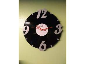 "12"" Record Clock Numbers"