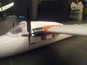 Bixler 2 wing mounted motor mount