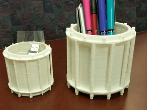 Snare Drum Pen and Pencil Cup