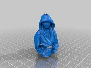 Hoodie girl scan