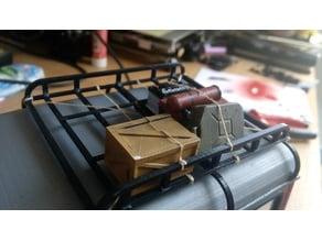 Roof rack for 3D printable Land rover Defender