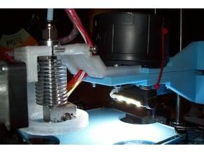 LED Tilt Light Mount using DOLLAR TREE LED Lantern