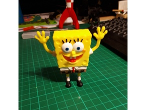 Spongebob multi colour figure