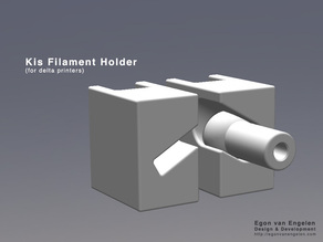 Kis Filament Holder (for delta printers)