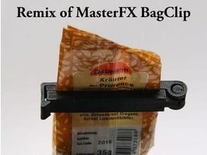 Bag Clip (CAD) Easy to modify