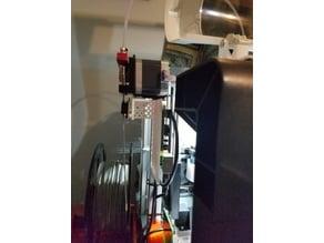 RPi Filament Sensor Mount for the da Vinci Jr