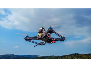 Ladder7 - 7 Inch Freestyle/Longrange Quadcopter Vertical Arms