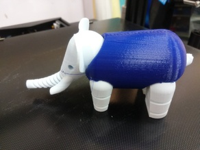 LFS elephant tails - Multi and Dual Extrusion version