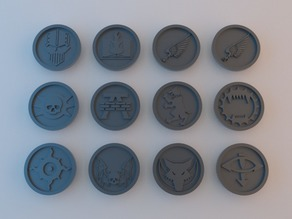 30k Tokens - 40mm x 4mm
