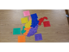 West Virginia Counties map puzzle
