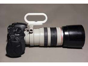 Lens Handle CANON EF 100-400 mm f / 4.5-5.6L IS USM.
