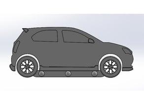 Toyota Etios keychain llavero