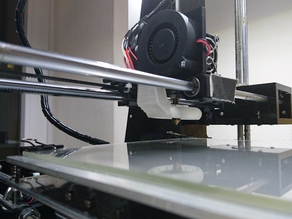 Anet A6 Duct + V2 - Anet A6 ventillation