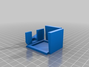Plotting Pen Holder Remixed for Prusia i3