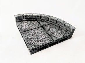 War-Lock Tiles: Curves