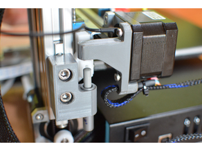 CETUS 3D Printer z-axis shock damper - simple and durable