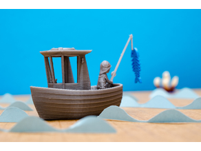 LEO the little fishing boat (visual benchy)