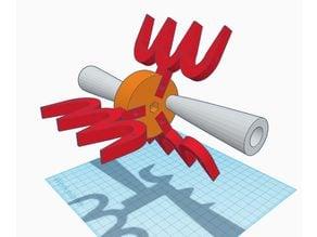 Tie-dye filament winder