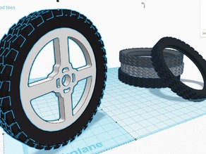 ThinkFun the Amazing OffRoad Tires !!