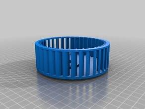 Cooling fan for SIP compressor