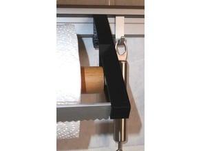Ersatzteil des Küchenpapier-Halters für Ikea Schienensystem