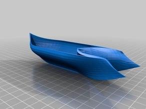 Bezier Organic Boat