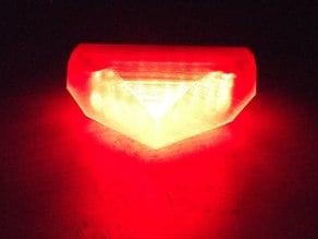 Stop lamp for motorbike