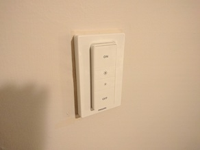 Philips Hue switch adapter plate