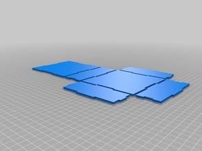 My Customized Simple parametric box generator for laser cut