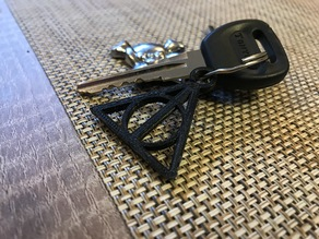 Deathly Hallows Keychain ( necklace )