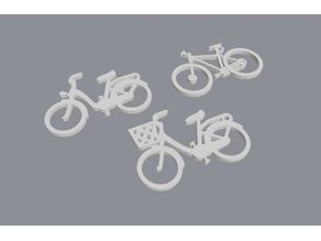 Bike keychain