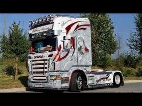 Scania truck litho