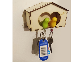 Birdhouse For hey holding