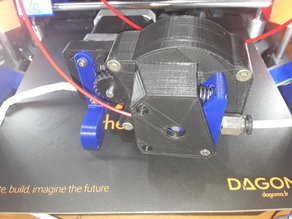 extruder reducté 3:1 bowden pour disco-easy