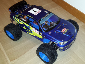 Thunder Tiger body shell mount for OpenRC 1:10 4WD Truggy