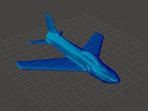Flat Shark Airplane Remix