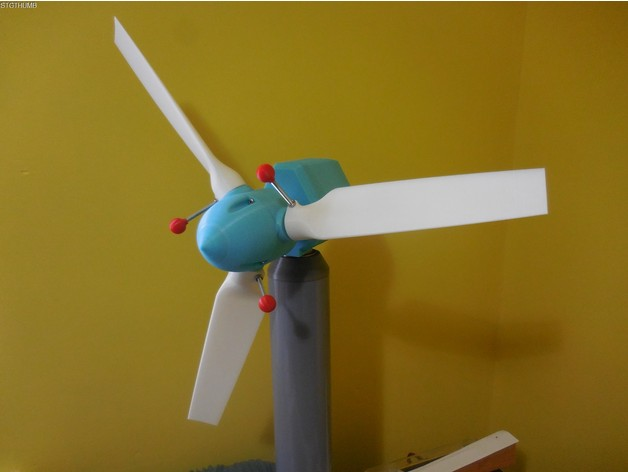 Eloquent image regarding 3d printable wind turbine