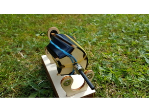 Mendocino motor laser cut