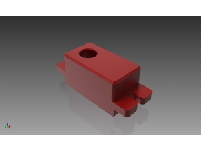 RC servo top cover for Hextronik MG14