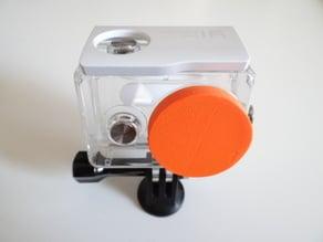 Xiaomi Yi case lens cover