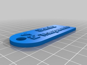 My Customized Filament Sample Tag