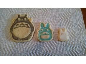 Remix - Totoro, Chu, & Chibi Cookie Cutter Set